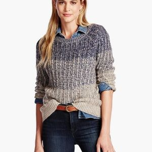 Lucky Brand Marled Ombre Pullover-medium